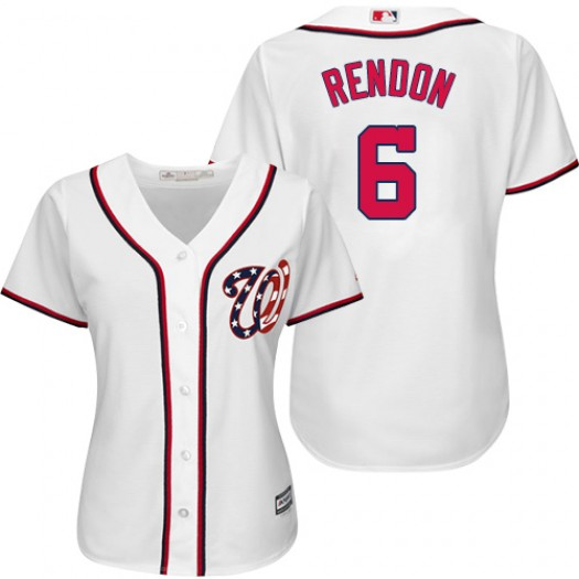 Women's Majestic Anthony Rendon Washington Nationals Authentic White Home Cool Base Jersey